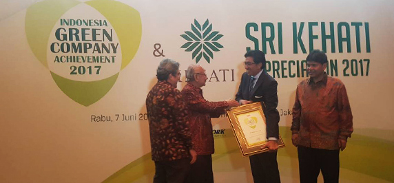 Nestlé won the award for Indonesia Green Company once again