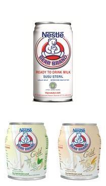 Bear Brand Susu Siap Minum Nestle