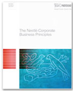 NESTLE's Corporate Business Principles and internal auditing